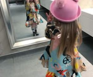 child, fashion, and hair image