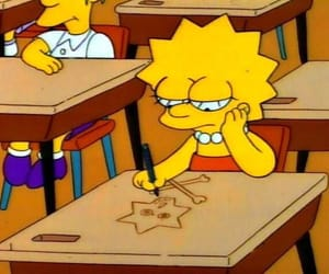 simpsons, school, and the simpsons image