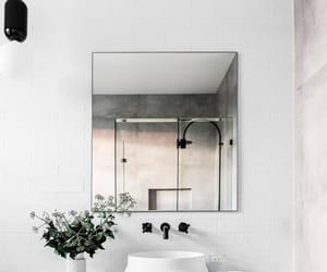 home, white, and home decor image