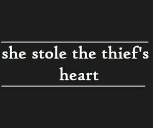 quotes, thief, and heart image