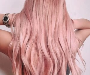 fashion, hair, and pink image