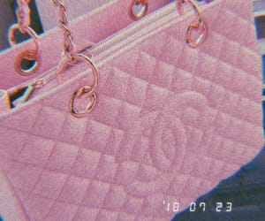 bag, fashion, and gold image