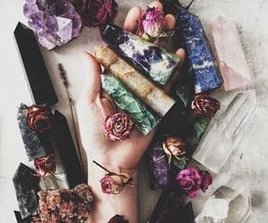 crystal, fantasy, and magic image