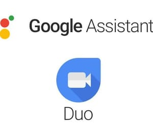 google assistant, duo calling, and google duo image