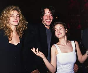 julia roberts, winona ryder, and keanu reeves image