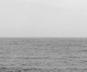 black, horizon, and noir image