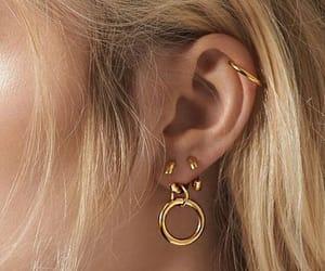 helix, jewellery, and lobe image