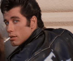 grease, John Travolta, and gif image