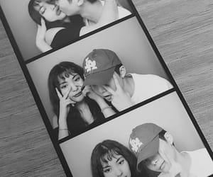 b&w, couple, and couples image