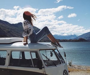 fashion, girl, and trip image