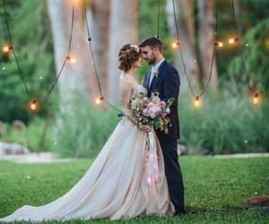 amor, decoration, and bride image