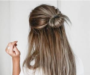 casual, hair, and hairstyles image