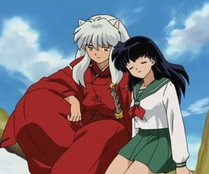 inuyasha, love, and kagome image