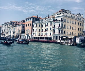 beauty, canal grande, and italy image