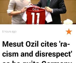 football, muslim, and Özil image