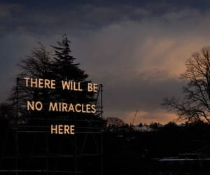 dusk, sign, and miracles image