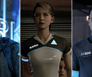android, beautiful, and Connor image