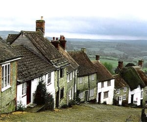 house, england, and landscape image