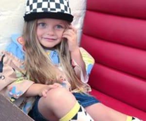 baseball cap, designer clothes, and girl image
