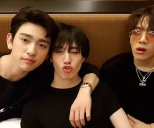 jinyoung, yugyeom, and lq image
