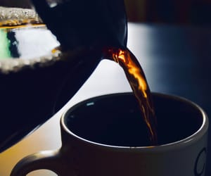 black, coffee, and dark image