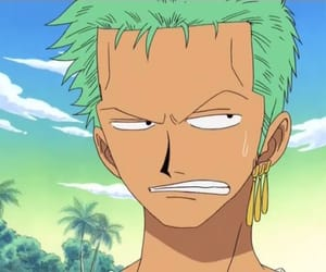 one piece, zoro, and luffy image
