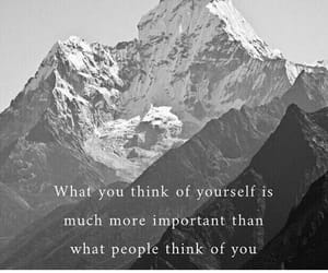 people, yourself, and what do you think image