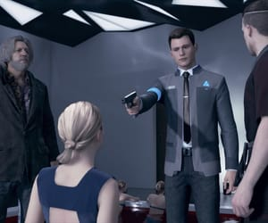 android, Connor, and beautiful image