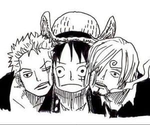 zoro, sanji, and luffy image