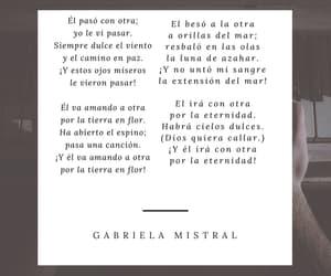 versos, poesía, and gabriela image
