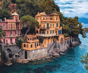 travel, italy, and sea image
