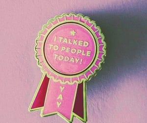badge, pin, and gold image