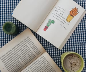 green, yellow, and book bookstagram image