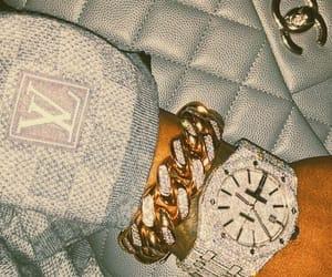 bag, bracelet, and chanel image