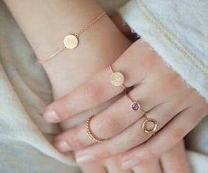 gold, jewellery, and rings image