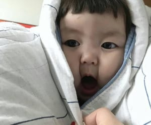 asian baby, baby, and ulzzang image