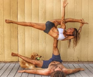 yoga and acro image