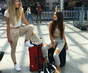 airport, bff, and funny image