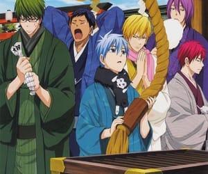 anime, kise ryota, and kuroko tetsuya image