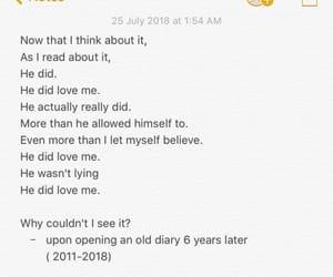 boy, ex, and feelings image