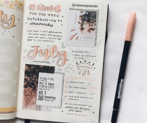 creative, diary, and fashion image
