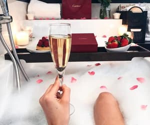 bath, candels, and cartier image