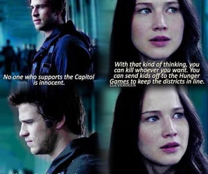 Jennifer Lawrence, gale hawthorne, and quote image