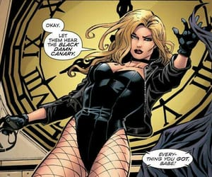 Black Canary, comics, and dc comics image