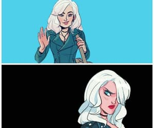 Black Canary, dc comics, and comics image