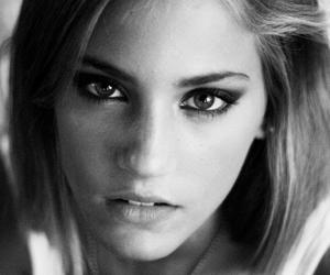 b&w, black and white, and model image