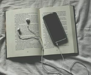 book, article, and black image