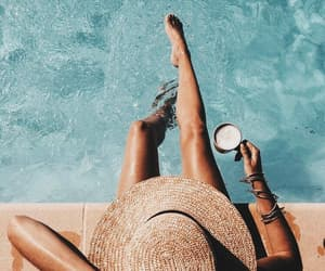 coffee, summer vibes, and summer break image