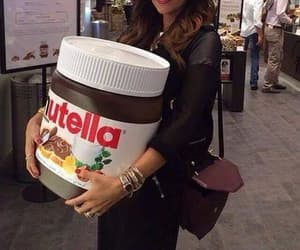 nutella, chocolat, and love image
