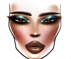 face chart, mac face drawing, and face-chart image
